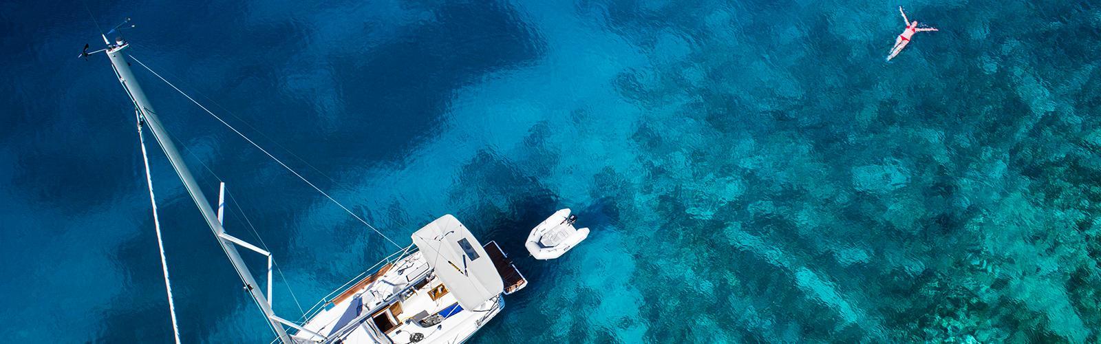 Mouillage Location voilier Côte d'Azur